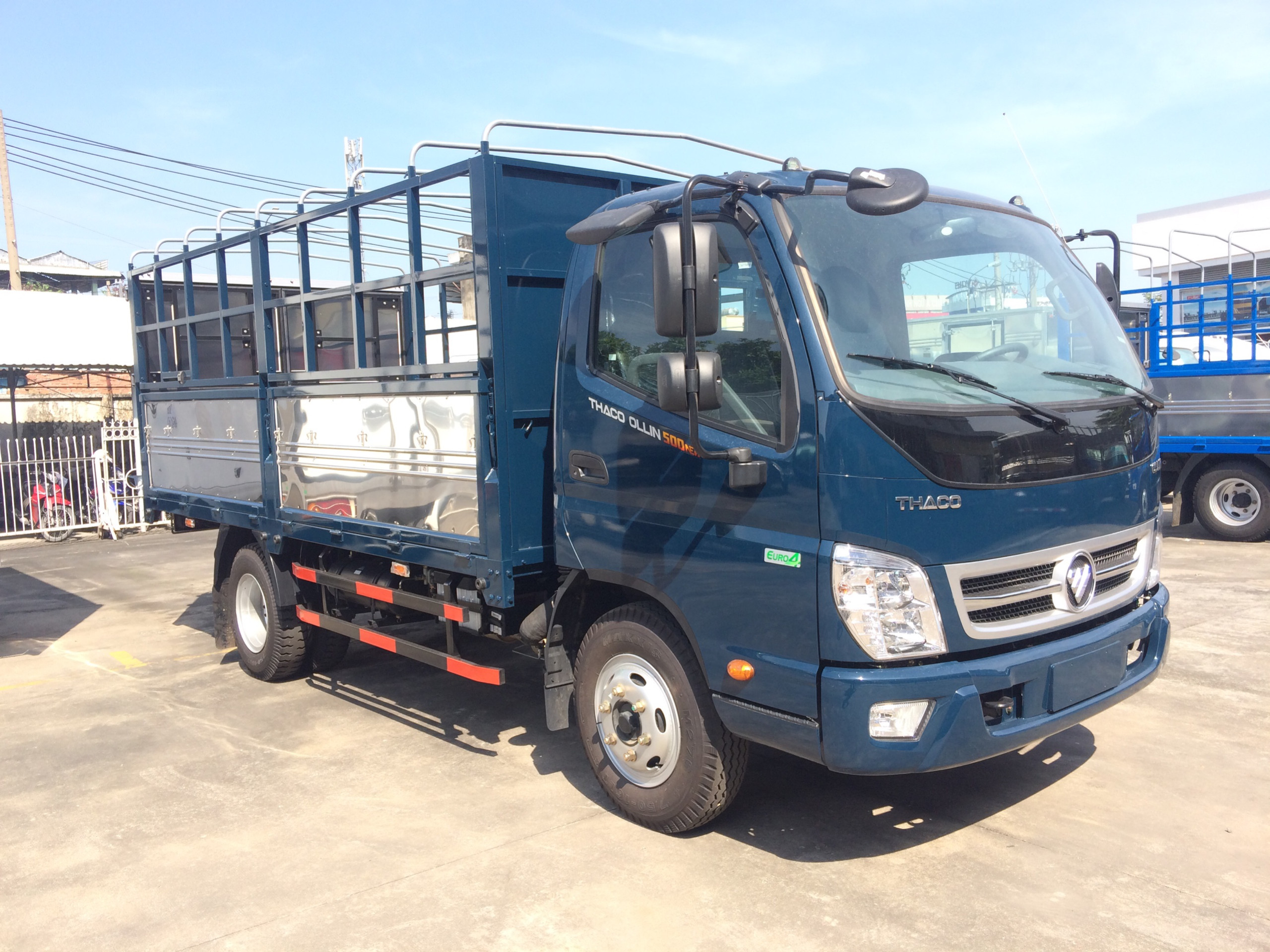 xe tải 5 tấn 2018