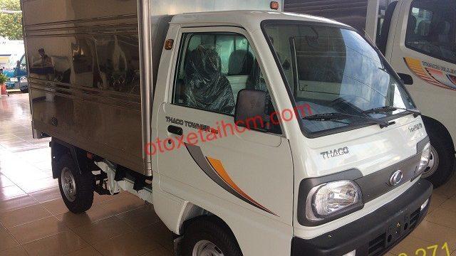 ngoại hình xe tải thaco towner 800