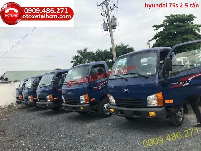 thiet kế hyundai new mighty 75s