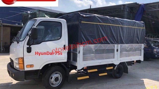 hyundai new mighty 75s 3.5 tan mui bạt