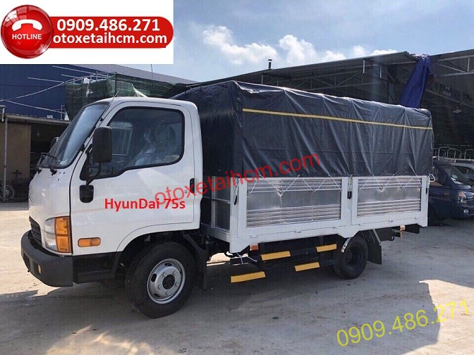 hyundai new mighty 75s 3.5 tan mui bạt