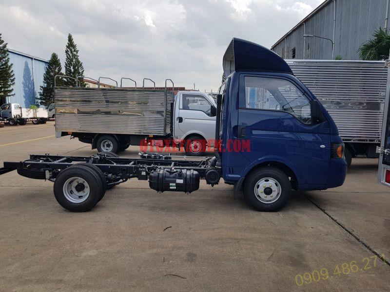 chassi xe tải Jac euro 4