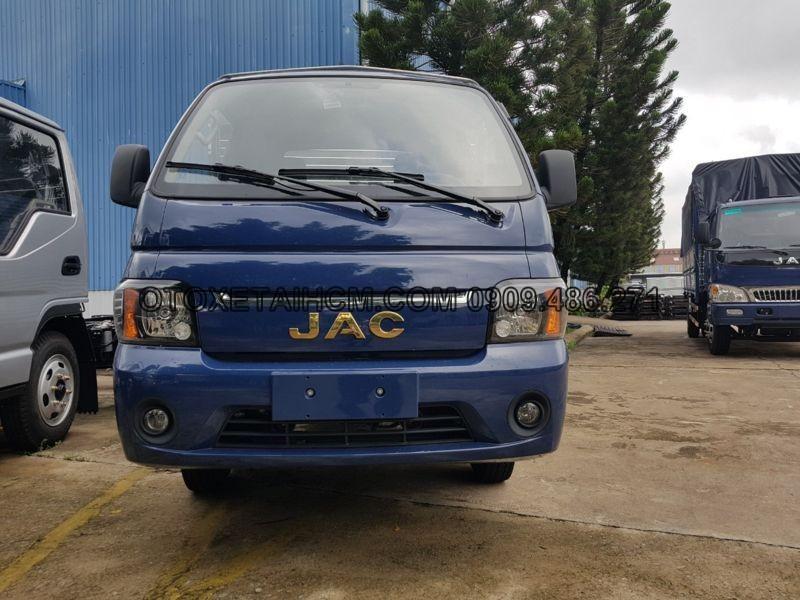 xe tải jac x150 màu xanh