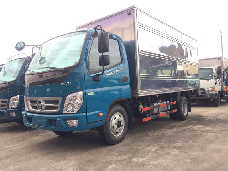 xe tải thaco ollin 500 thùng kín