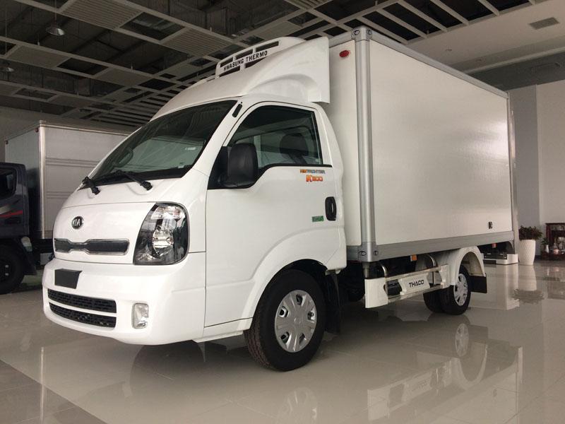 xe tải kia k200 đóng thùng đông lạnh