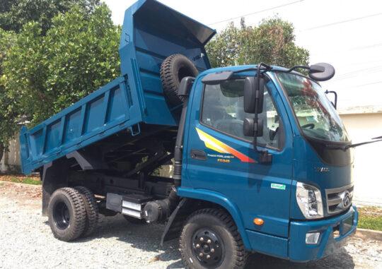 xe ben trường hải 3.5 tấn